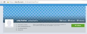 150317 AndreaUrbanFox Storify