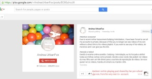 150323 Andrea Google+ Elliot