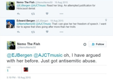 150819 nemo antisemitic abuse