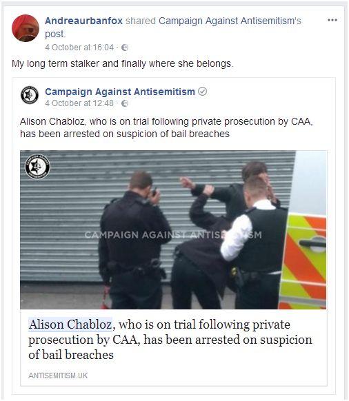 171012 andrea caa arrest
